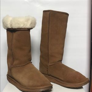 EMU tall Suede & Wool boots size EUR40/41 W-9 M-8